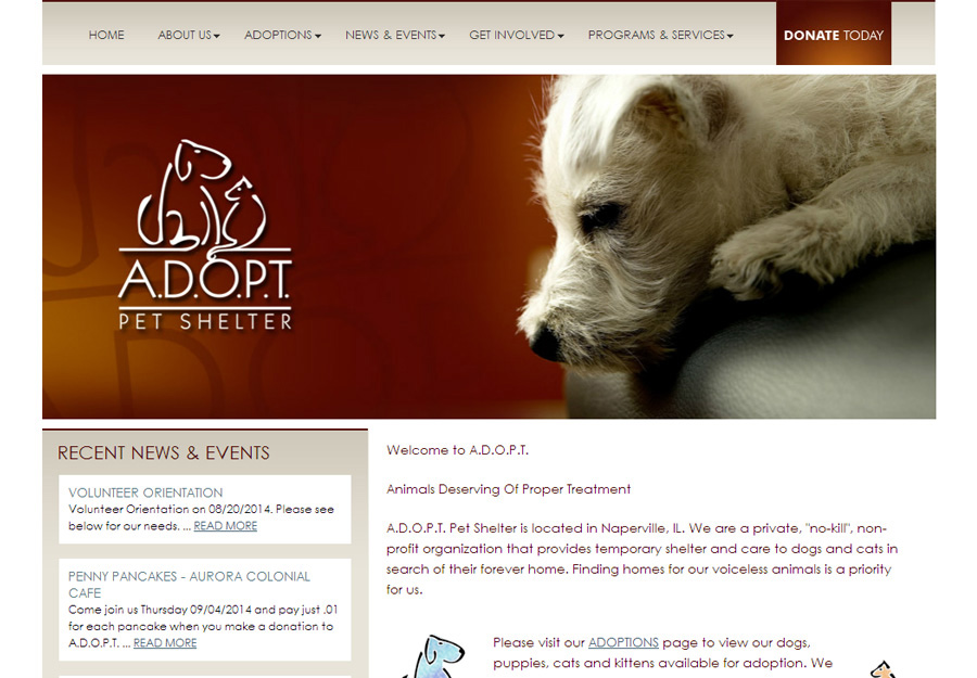 Finding Dogs To Adopt Websites