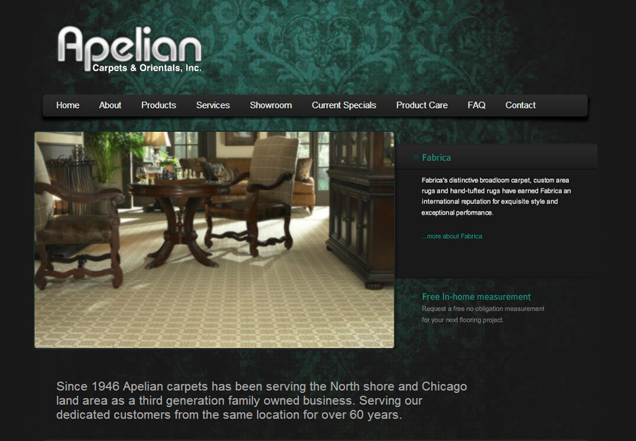 Flooring and Carpet Web Design