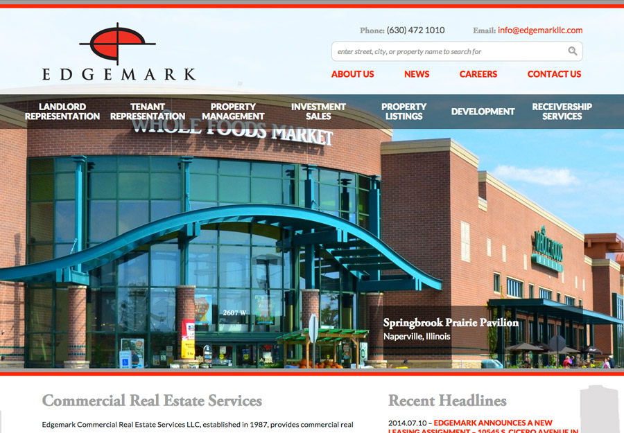 Commercial Real Estate Web Design