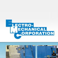 A screen capture of Electro Mechanical Corporation's website