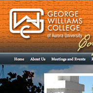 A screen capture of GWC Conference's website