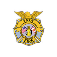 A screen capture of Troy Fire Protection District's website