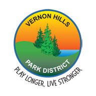 A screen capture of Vernon Hills Park District's website